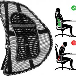 back pain office chair back support